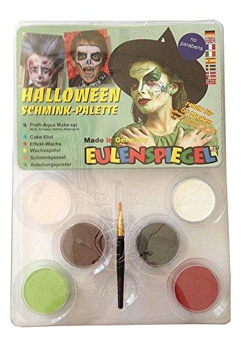 Eulenspiegel Halloween-Palette