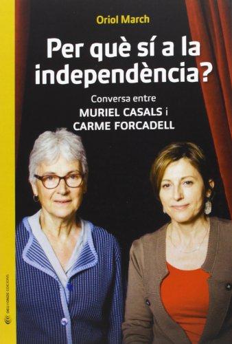 El procés que ha engegat Catalunya és, també, cosa de dones. Muriel Casals, presidenta d'Òmnium Cultural, i Carme Forcadell, presidenta de l'Assemblea Nacional Catalana (ANC), són dues veus respectades dins d'una societat civil que ha jugat un paper ...