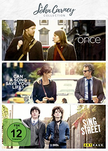 John Carney Collection - Once / Can A Song Save Your Life? / Sing Street [3 DVDs]