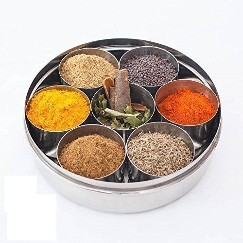 Indian Restaurant 20cm Spice Storage Set- Masala Dabba