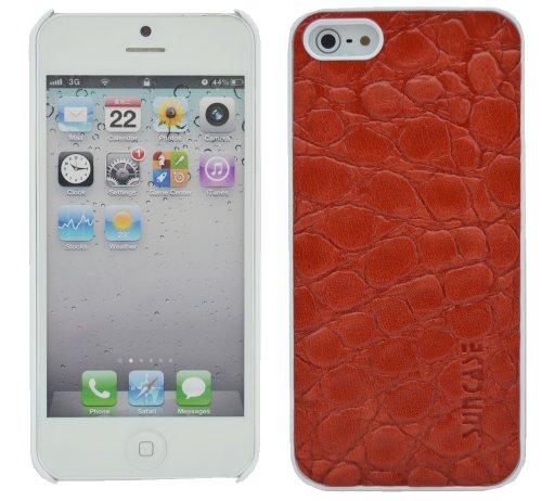 Suncase Original Custodia in pelle per Apple iPhone 5