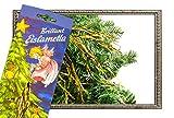 Qualitäts- Stanniol Lametta in gold 8 gramm
