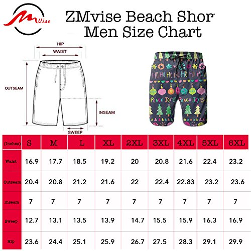 ZMvise-Christmas-Ringbell-Candy-Tree-Swim-Trunks-Quick-Dry-Beach-Board-Home-Water-Sports-Mens-Shorts