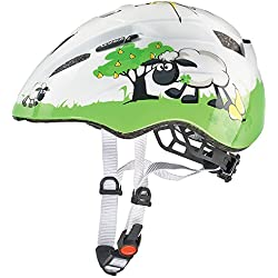 Uvex Kid 2 - Casco de ciclismo unisex, color blanco