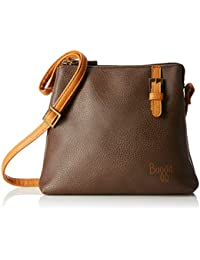 Baggit Women's Sling Bag (Brown)
