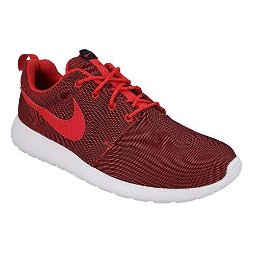 Nike Roshe One Premium, Scarpe da Corsa Uomo Rosso / Nero (University Red / Unvrsty Red-Blk)