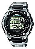 Casio Wave Ceptor – Herren-Armbanduhr mit Digital-Display und Edelstahlarmband – WV-200DE-1AVER