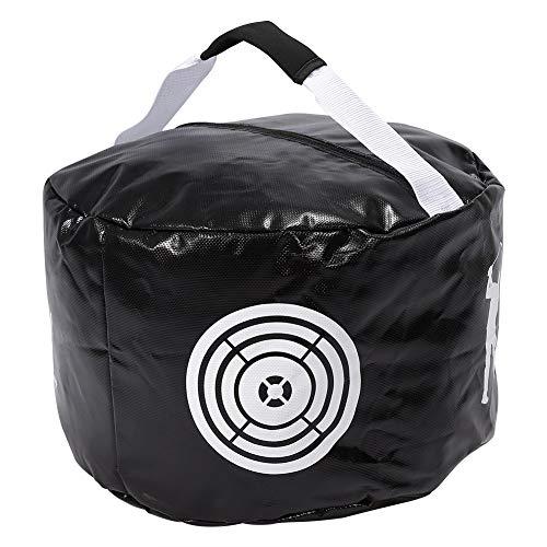 Bnineteenteam Golf-Smash-Tasche, 2 Farben Golf Aids Impact Swing Trainer-Tasche für das Golf-Üben(Schwarz)