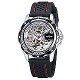 Uomo, meccanico orologio automatico,,, Casual, personalità, Cintura in nylon, w0252