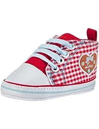 Playshoes  Baby Turnschuhe, Sneaker Herzchen Love, Chaussons pour enfant bébé fille