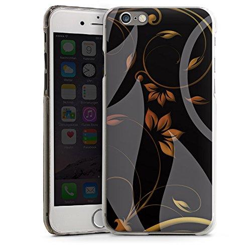 Apple iPhone 5s Housse étui coque protection Ornements Fleurs Fleurs CasDur transparent