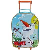 Disney Frozen Olaf Wheeled Children's Bag, 40 cm, Light Blue