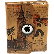 Hidalgo Vintage - Funda para Apple iPad, curpiel, diseño Londres