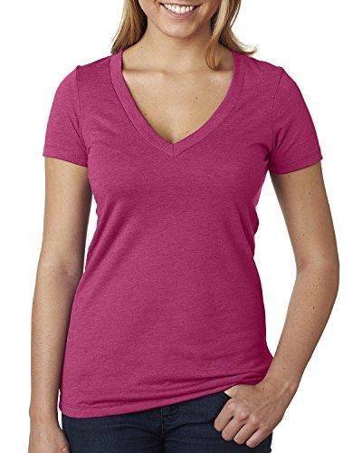 Next Level - T-shirt - Femme framboise
