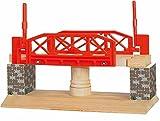 Drehbrücke Brücke beweglich mit automatischen Stopp HOLZEISENBAHN ZUBEHÖR