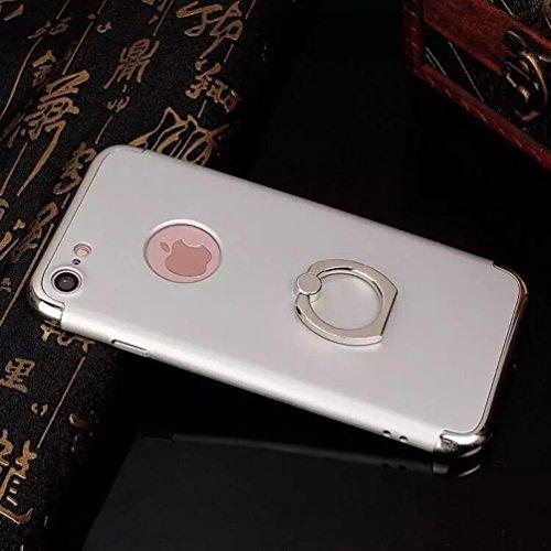 Coque iPhone 7,Coque iPhone 7 Plus,Coque iPhone 6/6S,Coque iPhone 6 Plus, Coque iPhone 6S Plus,Manyip 3 in 1Trois segments de type combiné Coque ,électrodéposition de couleur,Mince case cover(ZG-18) F