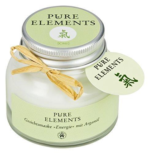 Pure Elements Naturkosmetik Chi Gesichtsmaske Energie mit Arganöl 50 ml -