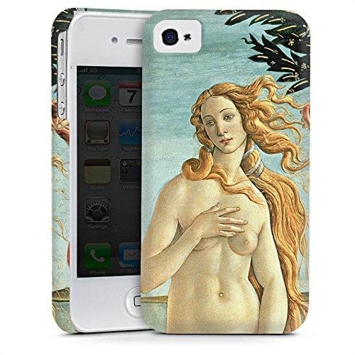 Apple iPhone 5s Housse Étui Protection Coque Sandro Botticelli La Naissance de Vénus Art Cas Premium mat