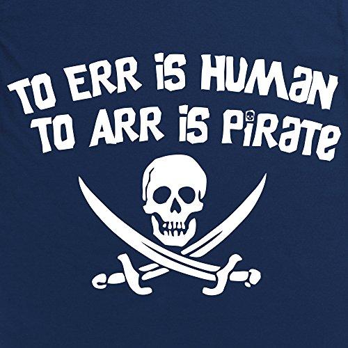 Pirate Err Langarmshirt, Herren Dunkelblau