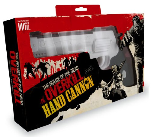 Wii - House of The Dead Overkill - Hand Cannon (Pistole)
