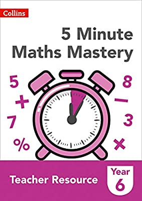 Collins KS2 Revision and Practice – 5 Minute Maths Mastery Book 6 from Collins
