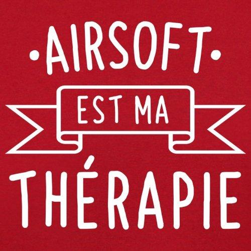 L'airsoft est ma thérapie - Femme T-Shirt - 14 couleur Rouge