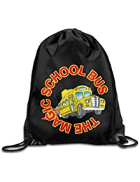 305d864ff Liumiang Bolsos de Lazo,Mochilas, Eco-Friendly Pirnt The Magic School Bus  Unisex