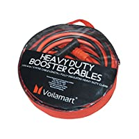 Voilamart Heavy Duty 1200AMP 6M Car Battery Jump Leads Booster Cables for Petrol Diesel Car Van Truck (Includes Zipped Carry Bag with Handle)