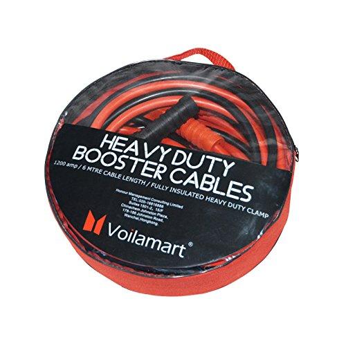 Voilamart resistenti cavi di avviamento per batteria da 1200 a / 3000 a, 6m, per auto a benzina, a diesel, camion, furgoni