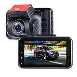 ViiVor Telecamera per Auto Dash Cam 1080P Super Wide angolo di 140 grad Auto DVR Camcorder,G-sensore di movimento rilevamento Loop Recorder LED notte visione
