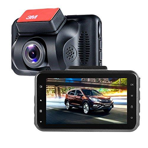"""Auto Dash Cam ViiVor 3.0"""" 1080P Full HD Auto DVR Rekorder Überwachung Autokamera Dash Cam mit 140°Weitwinkelobjektiv , WDR/HDR, G-Sensor, Nachtsicht und Parkmodus"""