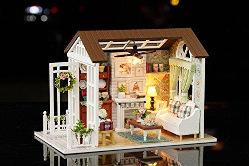 Handwerk Miniatur Kit-Wohnzimmer Modell & Möbel zeigen Fotos & Englisch Unterricht ()