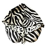 Lushomes Animal Printed Neck Pillow with a hoodie for exceptional comfort (35 x 35 cms, Singe pc)