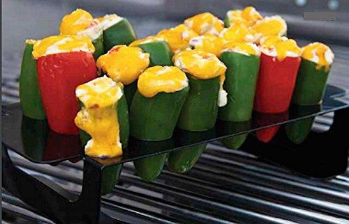 Charcoal Companion Non Stick Chili Pepper Grill Rack And