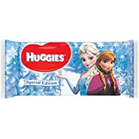 Huggies Disney Natural Care Baby Feuchtetücher, 1er Pack (1 x 56 Stück)