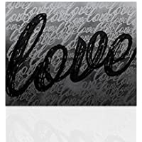 Amazon It Scritta Love Più Di 50 Eur Stampe E Quadri Su Tela