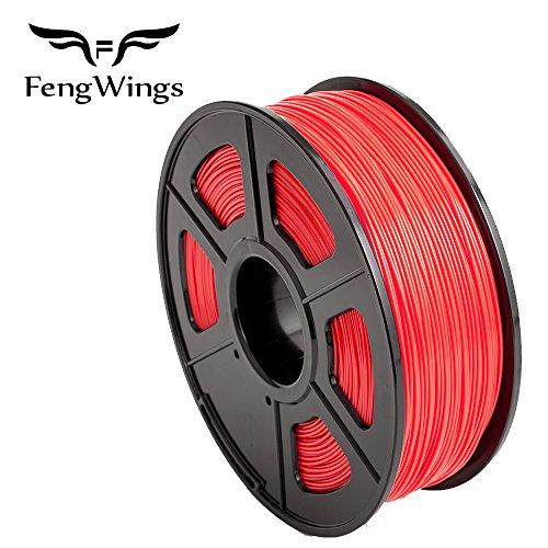 fengwings 1,75mm 3d Printer Imprimeur ABS Filamento 1KG Bobina de