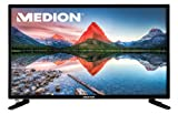 MEDION LIFE P12304 MD 21431 59,9cm 23,6 Zoll LED-Backlight-TV, Full HD, HD Triple Tuner DVB-T2 DVB-S2 DVB-C, integrierter DVD-Player, Media-Player, USB, EEK:A, schwarz