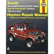 Suzuki Samurai/Sidekick/X-90 & Geo & Chevrolet Tracker: 1986 Thru