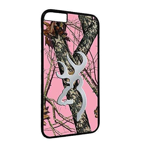 Rosa Real Tree iPhone Fall Browning Deer Pink Camo Eiche Design für Handy Tasche, PC-912 Camo Deer Fall