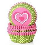 Cupcake Papier Pour Muffins Gateau Decoration cupcakes moules de standard pour cupcakes,les mariages,mini moules en papier Standard,lot de 100 avec motif,6 x 3 cm