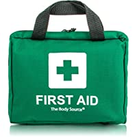 220 Piece Premium First Aid Kit Bag - Includes Eyewash, 2 x Cold (Ice) Packs and Emergency Blanket for Home, Office, Car, Caravan, Workplace, Travel and Sports (Green) 17