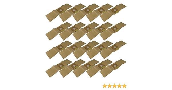 10/Sacs daspirateur en papier Compatible avec r/ésistant aux chocs Sorma 510