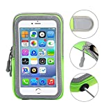 LOVNE Universal Sweatproof Cell Phone Holdered Mobile Armband for Running Sports Fitness Gym