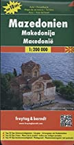 Macedonia Fb 2012 1:200,000 (English, Spanish, French and German Edition)