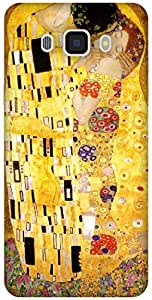 The Racoon Lean The Kiss - Klimt hard plastic printed back case / cover for Samsung Galaxy J7(2016)