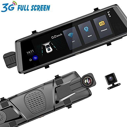 3G 10 Zoll-Schlag-Nocken-Auto-Kamera DVR-Automobil-Spiegel GPS Adas-Fernüberwachungs-voller HD 1080P - Kamera Fernüberwachung