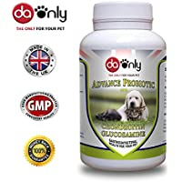 DAONLY Probiotics for Dogs and Cats, Advance probiotic Tablets for Pets with chondroitin and glucosamine, gastrointestinal Health for Your Pet, Chicken Flavored chewable Tablets (Flavor Chicken, 180)