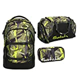 Satch Pack - 3tlg. Set Schulrucksack - Jungle Lazer