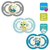 MAM Produit bébé Perfect Night Lot de 3 sucettes, luminescentes, 6 mois et +...